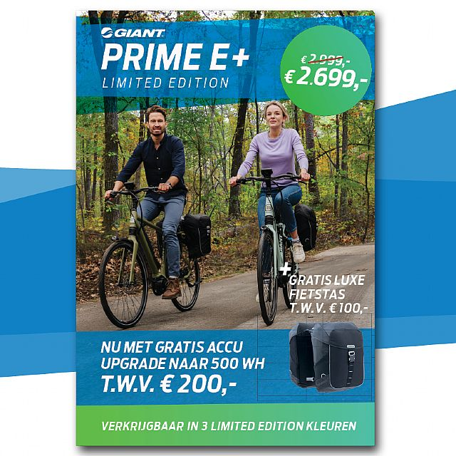 Giant � Prime E+ 1 Limited Edition�2019 � � �                                                          � Van 2999,- voor 2699,-